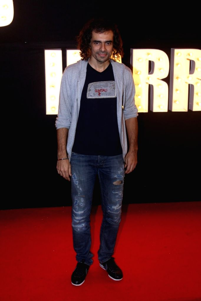"Filmmaker Imtiaz Ali at the preview of ""Beech Beech Mein"" a song from upcoming film ""Jab Harry Met Sejal"" in Mumbai, on  July 3, 2017. - Imtiaz Ali"