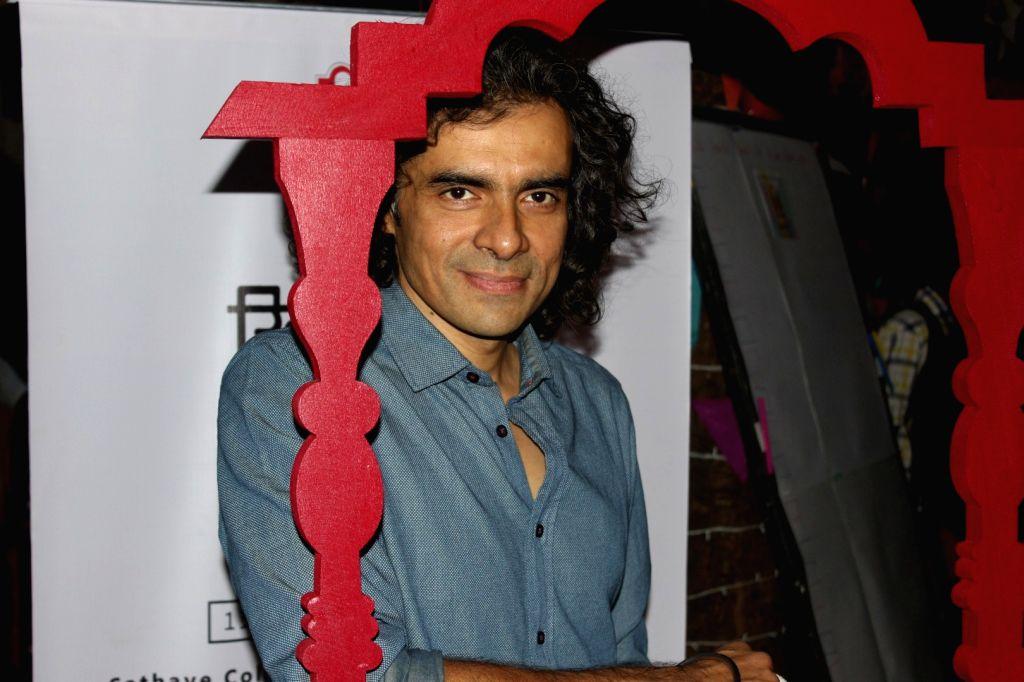 Filmmaker Imtiaz Ali during the inauguration of `Khidkiyaan`- Theatre Festival 2016, in Mumbai on Jan 13, 2016. - Imtiaz Ali