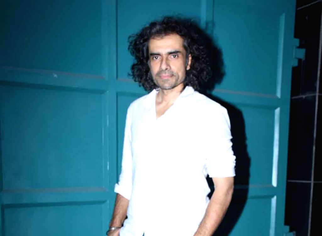 Filmmaker Imtiaz Ali seen at the office of Maddock Films in Mumbai on Jan 24, 2020. - Imtiaz Ali
