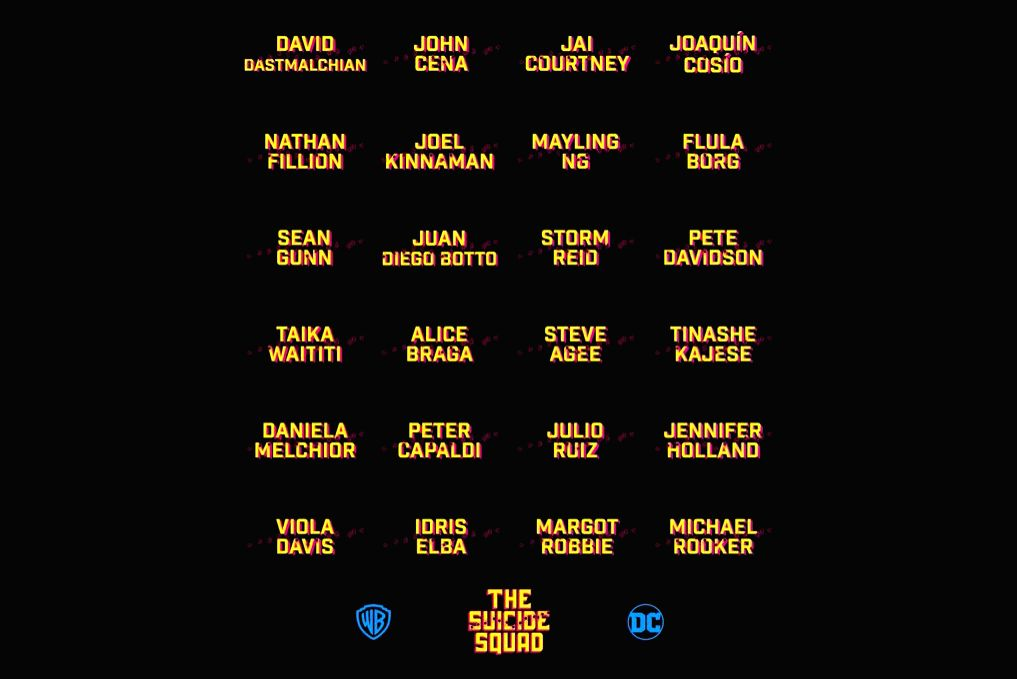"Filmmaker James Gunn has revealed the full cast of his upcoming film ""The Suicide Squad"", with a warning. Gunn took to Twitter to reveal the names of the 24 stars. - James Gunn"