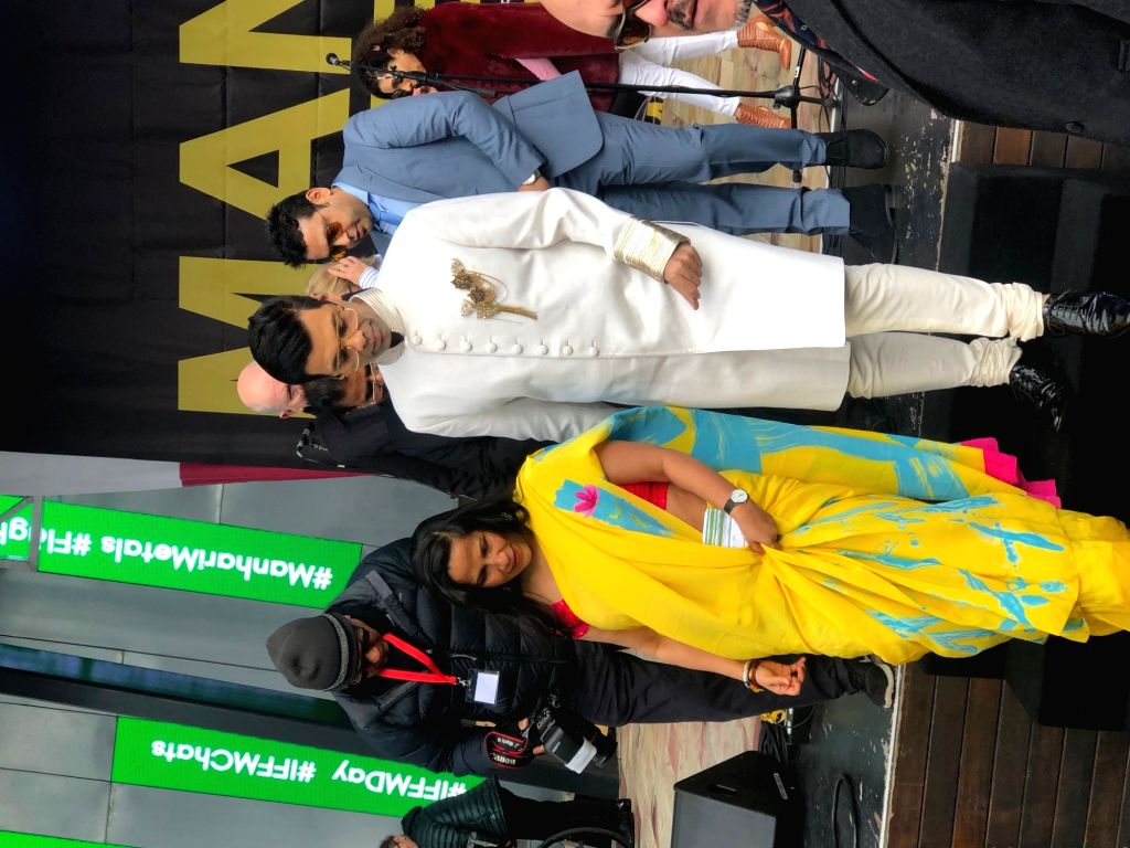 Filmmaker Karan Johar arrives to hoist the Indian tricolour at Federation Square in Melbourne, Australia. Desis' from across the city gathered at Federation Square here on Saturday to see Karan ... - Karan Johar