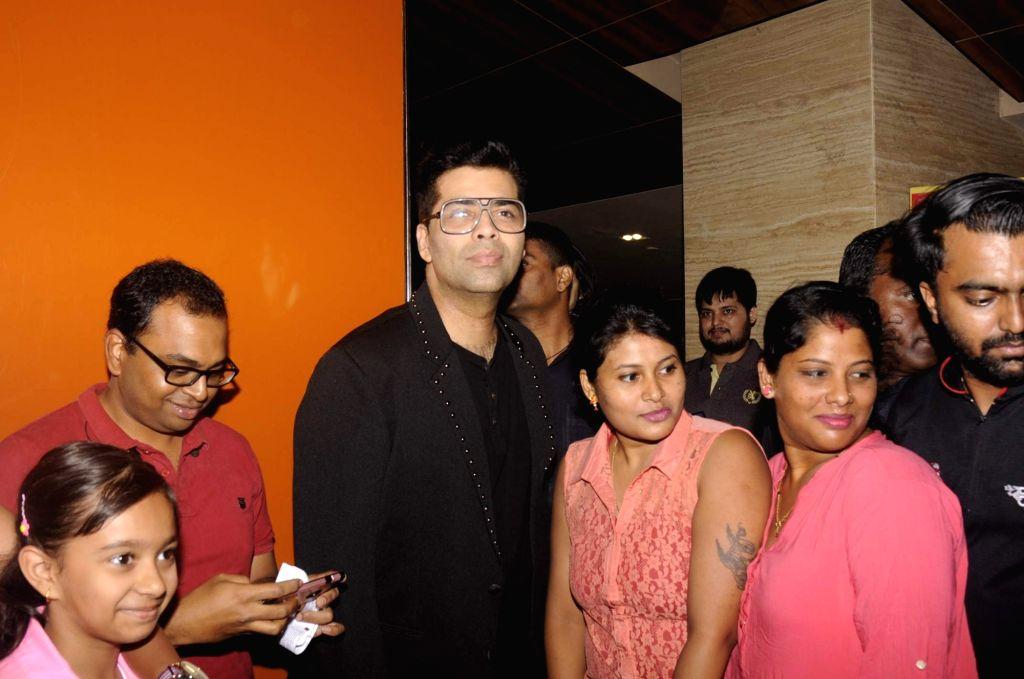 Filmmaker Karan Johar at PVR in Mumbai on Oct 31, 2016. - Karan Johar