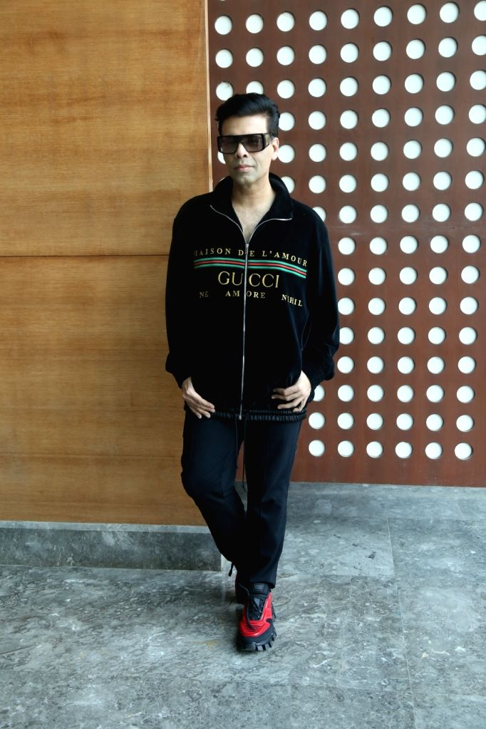 Filmmaker Karan Johar during a programme in Mumbai on Nov 5, 2019. - Karan Johar