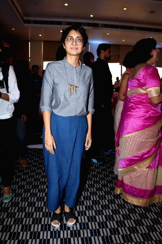 Filmmaker Kiran Rao during the launch of Jaslok hospital`s new wing Jaslok Fertility Tree, in Mumbai, on Aug 15, 2016. - Kiran Rao