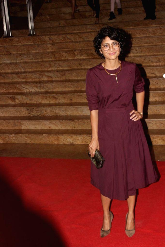 Filmmaker Kiran Rao during the Mijwan Summer 2017 fashion show during the Mijwan Summer 2017 fashion show in Mumbai on March 5, 2017. - Kiran Rao