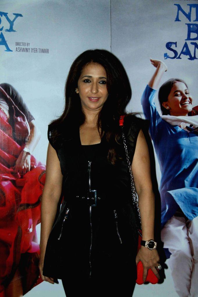 Filmmaker Krishika Lulla during the special screening of film Nil Battey Sannata in Mumbai on April 20, 2016. - Krishika Lulla