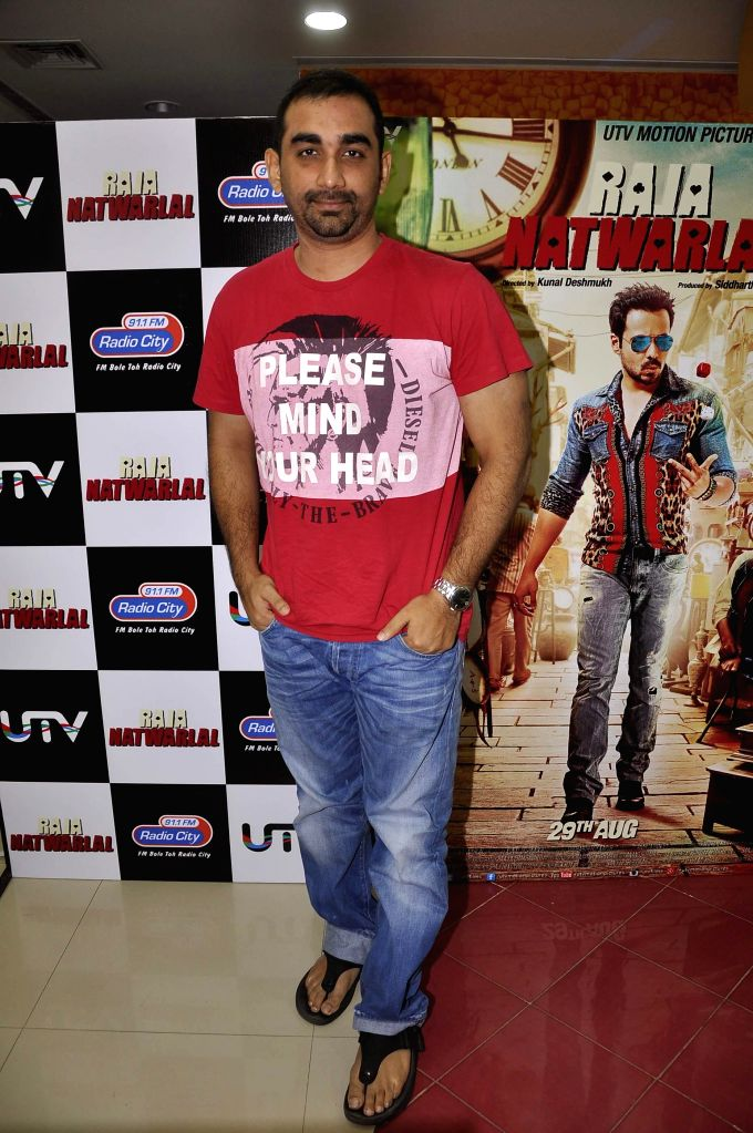 Filmmaker Kunal Deshmukh during the launch of song Kal They Mile from their film Raja Natwarlal in Mumbai on July 30, 2014. - Kunal Deshmukh