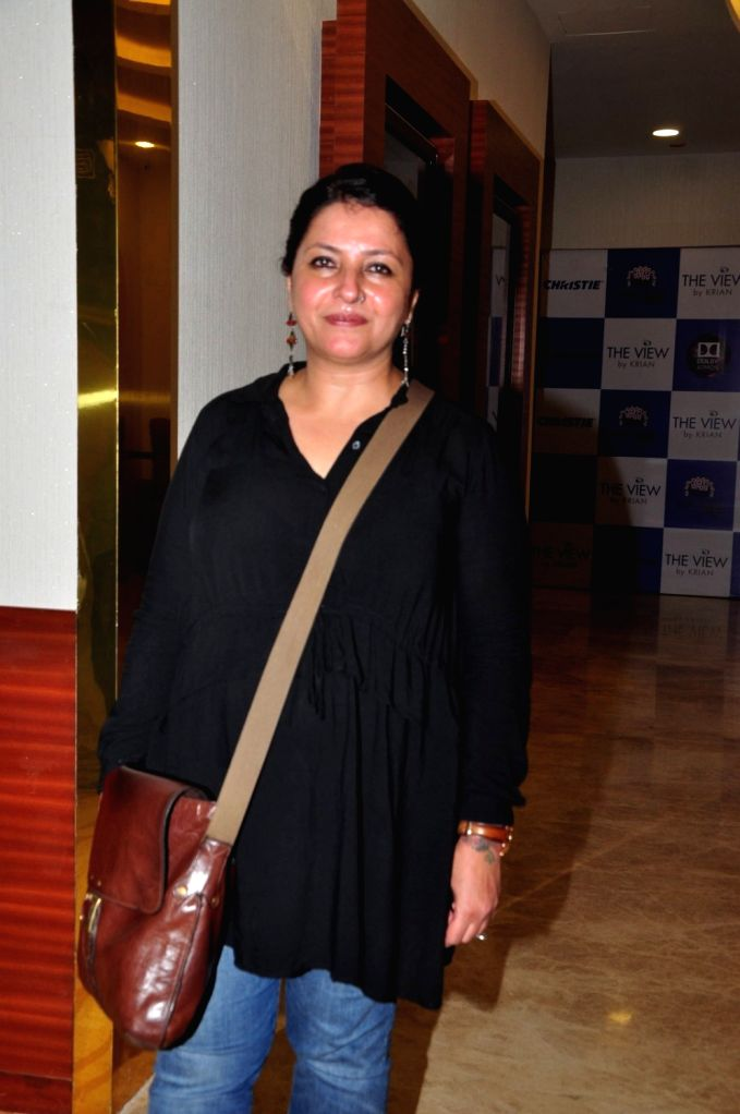 Filmmaker Leena Yadav during the special screening of the movie Parched in Mumbai on Sept. 19, 2016. - Leena Yadav