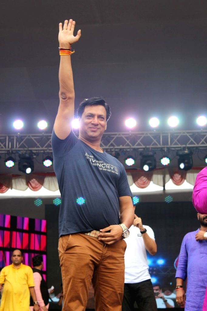 """Filmmaker Madhur Bhandarkar during the song launch of upcoming film """"Daddy"""" in Mumbai on Aug 15, 2017. - Madhur Bhandarkar"""
