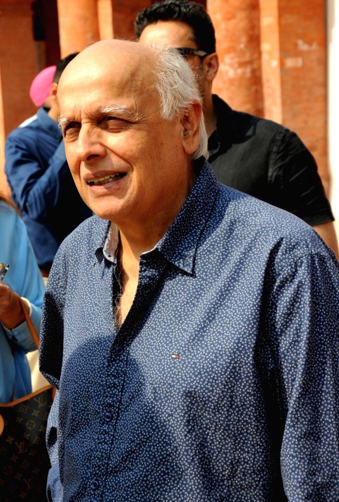 Filmmaker Mahesh Bhatt during his visit to Partition Museum, at Town Hall, in Amritsar on April 14, 2017. - Mahesh Bhatt
