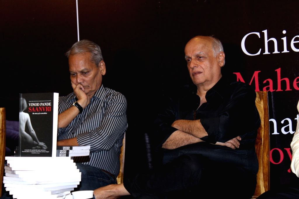 Filmmaker Mahesh Bhatt during the launch of Vinod Pande's book Saanvri, in Mumbai, on Nov. 25, 2016. - Mahesh Bhatt