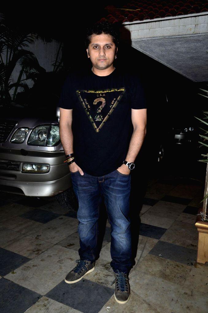 filmmaker Mohit Suri during the success party of the film Ek Villain in Mumbai on 5th July 2014
