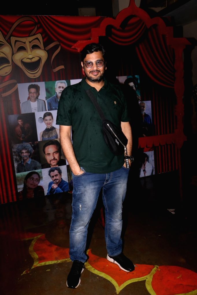 "Filmmaker Mukesh Chhabra at ""Khidkiyaan"" Theatre Festival in Mumbai on Sep 26, 2019. - Mukesh Chhabra"