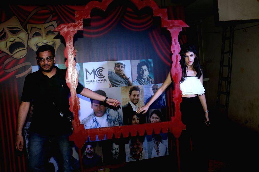 "Filmmaker Mukesh Chhabra at ""Khidkiyaan"" Theatre Festival in Mumbai on Sep 26, 2019. - Mukesh Chhabra"