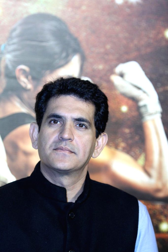 Filmmaker Omung Kumar during the unveiling of the trailer of film Mary Kom in Mumbai on July 23, 2014. - Omung Kumar