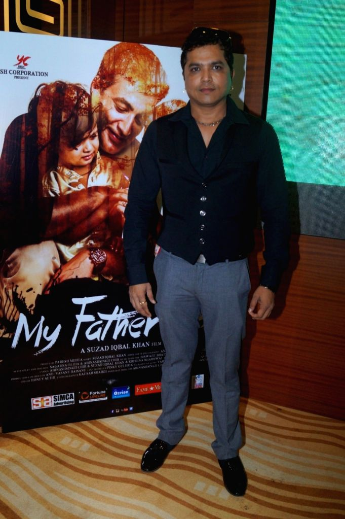 Filmmaker Paresh Mehta during the music launch of film My Father Iqbal in Mumbai, on August 6, 2016. - Paresh Mehta
