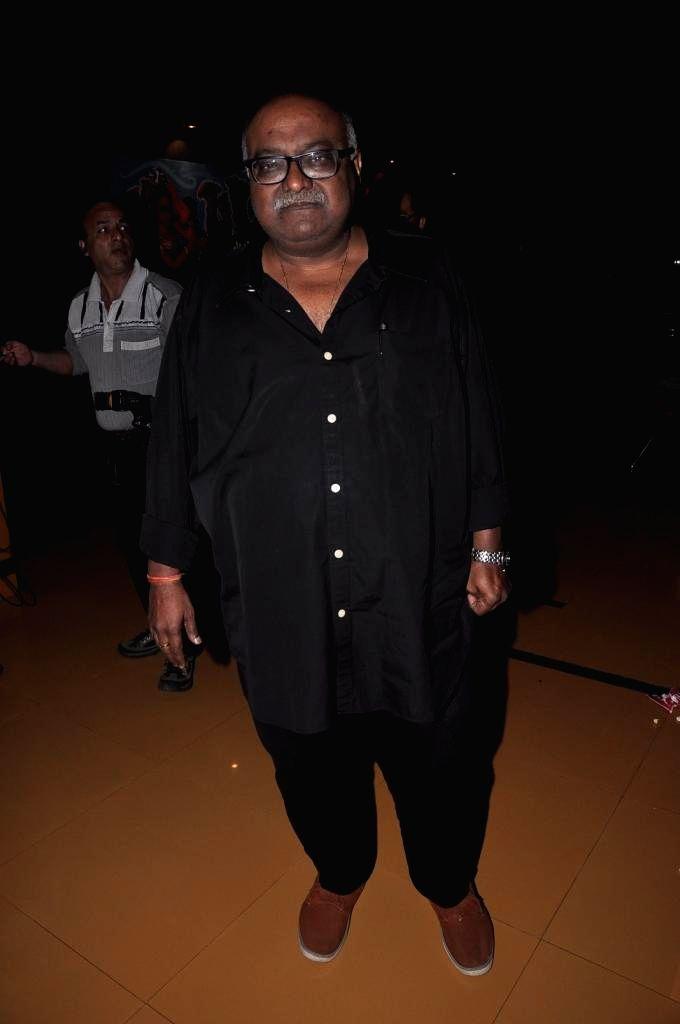Filmmaker Pradeep Sarkar during special screening of Bengali film Buno Haansh in Mumbai. - Pradeep Sarkar