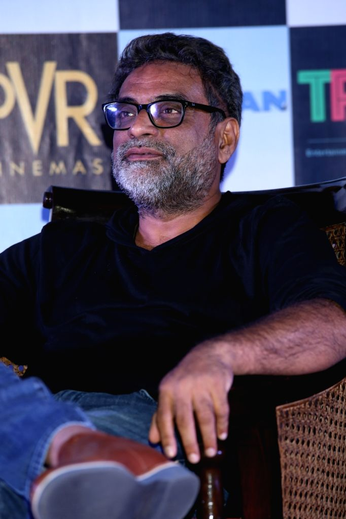 """Filmmaker R Balki during a press conference to promote his upcoming film """"Pad Man"""" in New Delhi on Feb 5, 2018. - R Balki"""