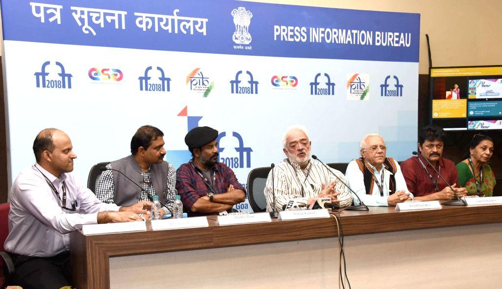 Filmmaker Rahul Rawail addresses a press conference at the 49th International Film Festival of India (IFFI-2018) in Panaji, on Nov 21, 2018. (Photo: IANS/PIB) ` - Rahul Rawail