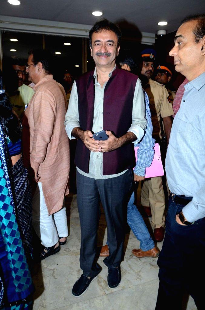Filmmaker Rajkumar Hirani during The Satyamev Jayate Water Cup Awards 2016, in Mumbai, on Aug 15, 2016. - Rajkumar Hirani
