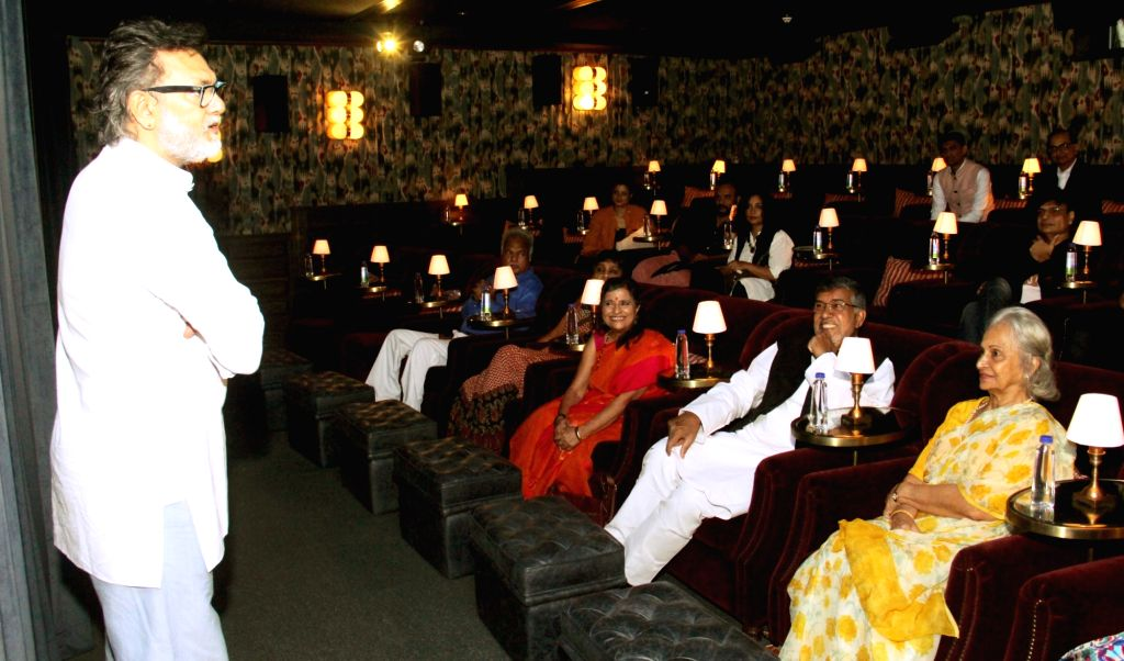"Filmmaker Rakeysh Omprakash Mehra addresses at the screening of his documentary ""The Price of Free"" that is based on a true story of Nobel Peace Laureate Kailash Satyarthi's life, ... - Rakeysh Omprakash Mehra"