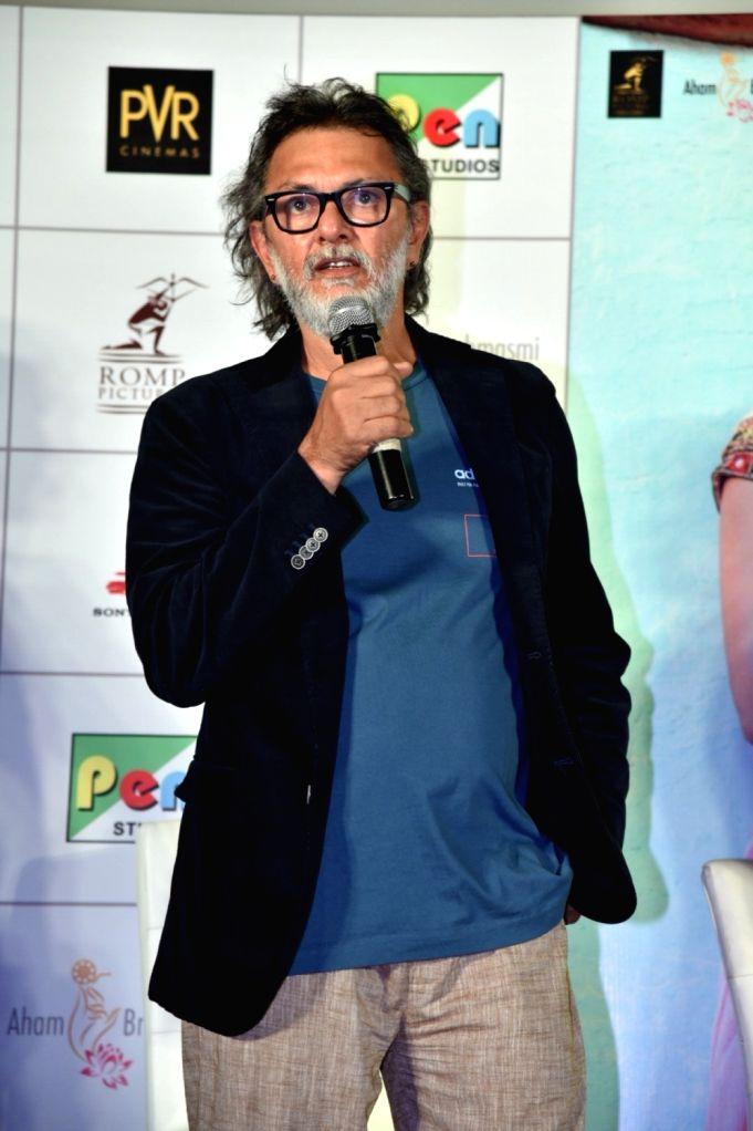 "Filmmaker Rakeysh Omprakash Mehra at the trailer launch of his upcoming film ""Mere Pyare Prime Minister"", in Mumbai on Feb. 10, 2019. - Rakeysh Omprakash Mehra"