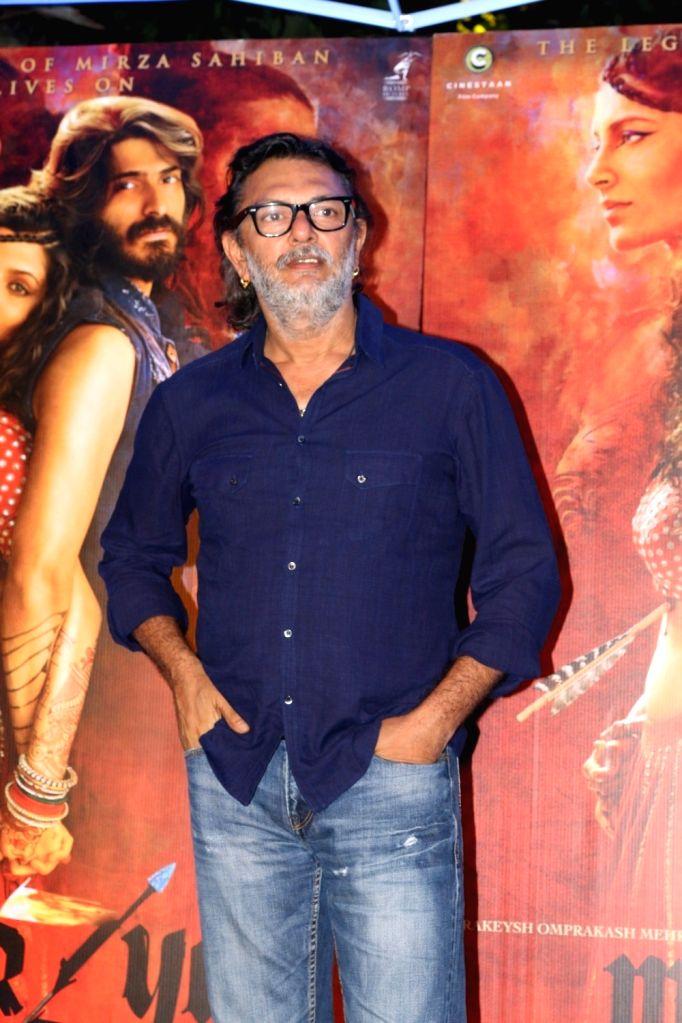 Filmmaker Rakeysh Omprakash Mehra during the red carpet for get together of film Mirzya in Mumbai on Sept 26, 2016. - Rakeysh Omprakash Mehra