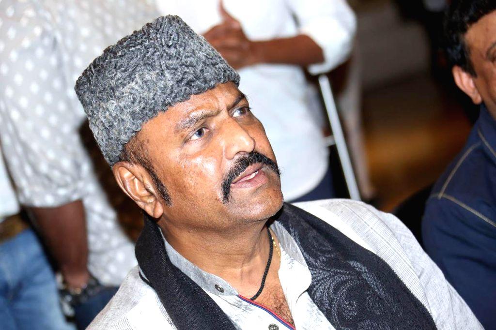 Filmmaker Ram Gopal Varma during a press meet of film Anukshanam at Novatel Hotel in Hyderabad on 6 Sep, 2014 .