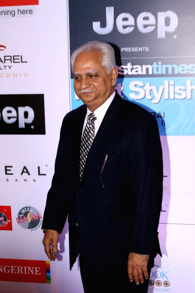 Filmmaker Ramesh Sippy  during the HT Most Stylish Awards in Mumbai,  on March 24, 2017. - Ramesh Sippy
