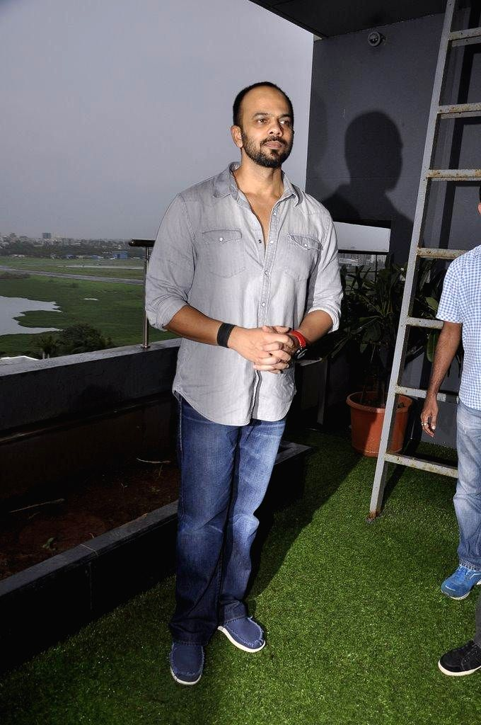 Filmmaker Rohit Shetty during the muhurat of film Welcome to Karachi in Mumbai, on Sept. 5, 2014. - Rohit Shetty
