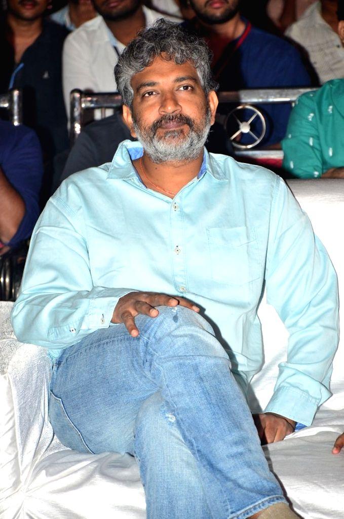 "Filmmaker S. S. Rajamouli during the pre release function of Telugu movie ""Ninnu Kori"" in Hyderabad. - S. S. Rajamouli"