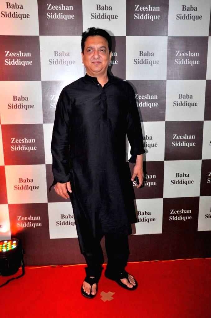 Filmmaker Sajid Nadiadwala during Congress leader Baba Siddique`s Iftar party, in Mumbai, on June 24, 2017. - Sajid Nadiadwala