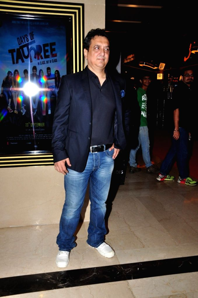 Filmmaker Sajid Nadiadwala during the premiere of film Days of Tafree, in Mumbai, on Sept 21, 2016. - Sajid Nadiadwala