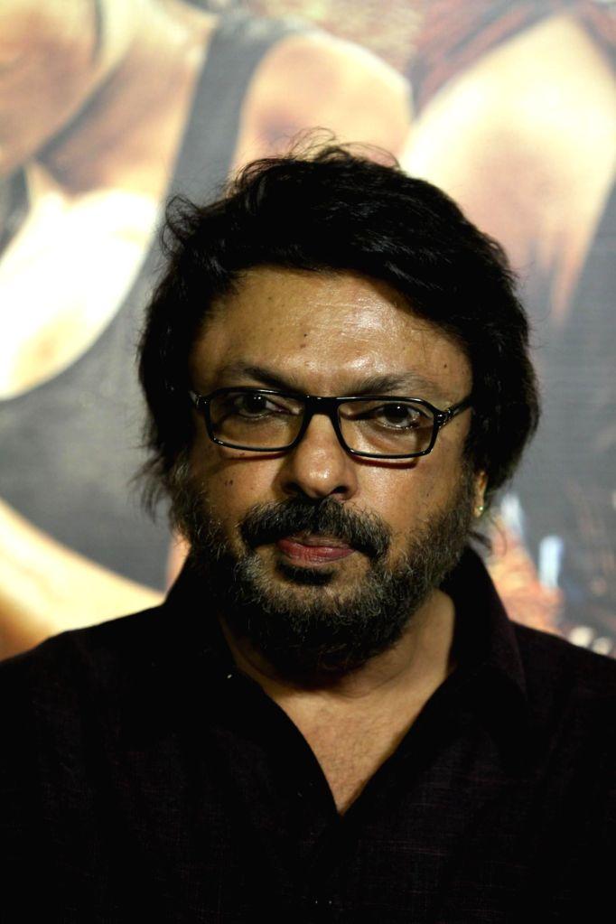 Filmmaker Sanjay Leela Bhansali during the unveiling of the trailer of film Mary Kom in Mumbai on July 23, 2014. - Sanjay Leela Bhansali