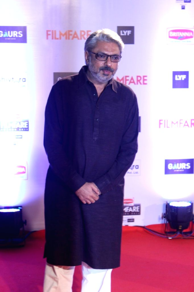 Filmmaker Sanjay Leela Bhansali during the 61st Britannia Filmfare Awards in Mumbai on January 15, 2016. - Sanjay Leela Bhansali