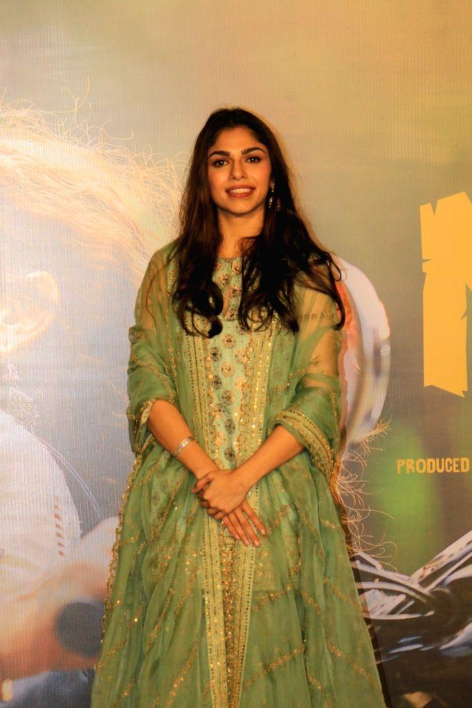 "Filmmaker Sanjay Leela Bhansali's niece Sharmin Segal at the trailer launch of her upcoming debut film ""Malaal"" in Mumbai, on May 18, 2019. - Sanjay Leela Bhansal"