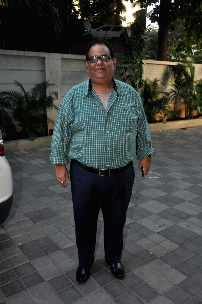 Filmmaker Satish Kaushik during the music launch of film Lakshmi at Hard Rock Cafe in Mumbai on December 20, 2013. - Satish Kaushik