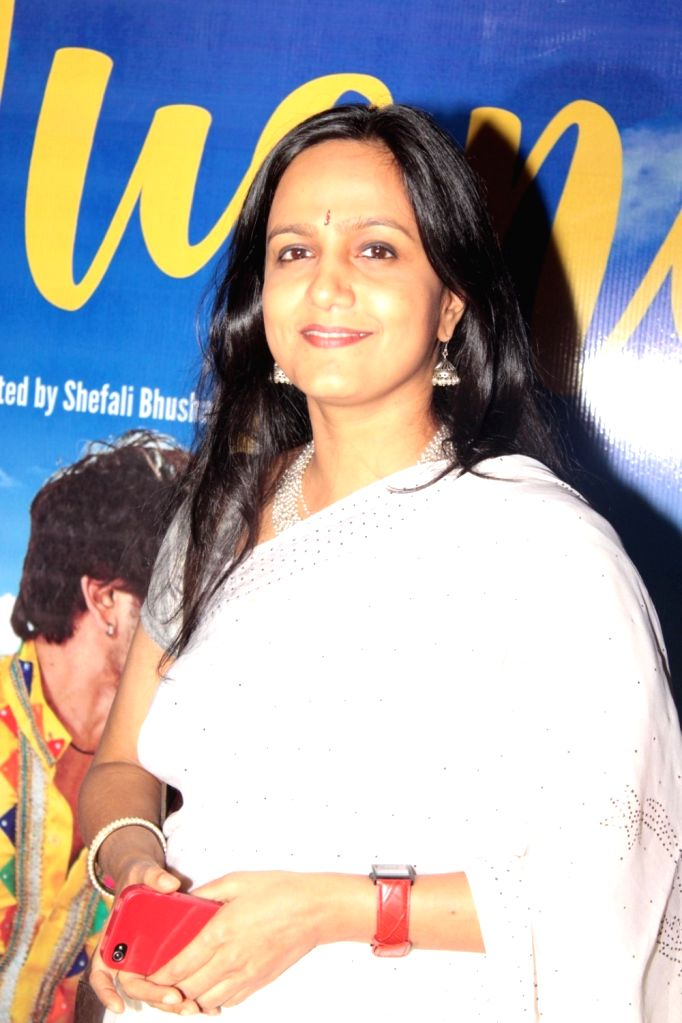Filmmaker Shefali Bhushan during the screening of film Jugni in Mumbai on Jan 18, 2016. - Shefali Bhushan