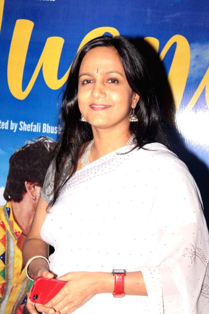 Filmmaker Shefali Bhushan during the screening of film Jugni in Mumbai on Jan 18, 2016. - Shefali Bhushan