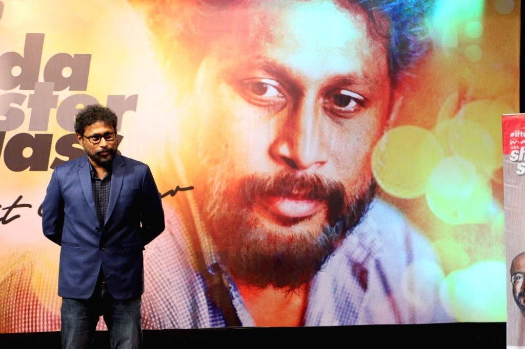 Filmmaker Shoojit Sircar at a master class organised by Indian Film and Television Directors' Association (IFTDA), in Mumbai on May 19, 2018. - Shoojit Sircar