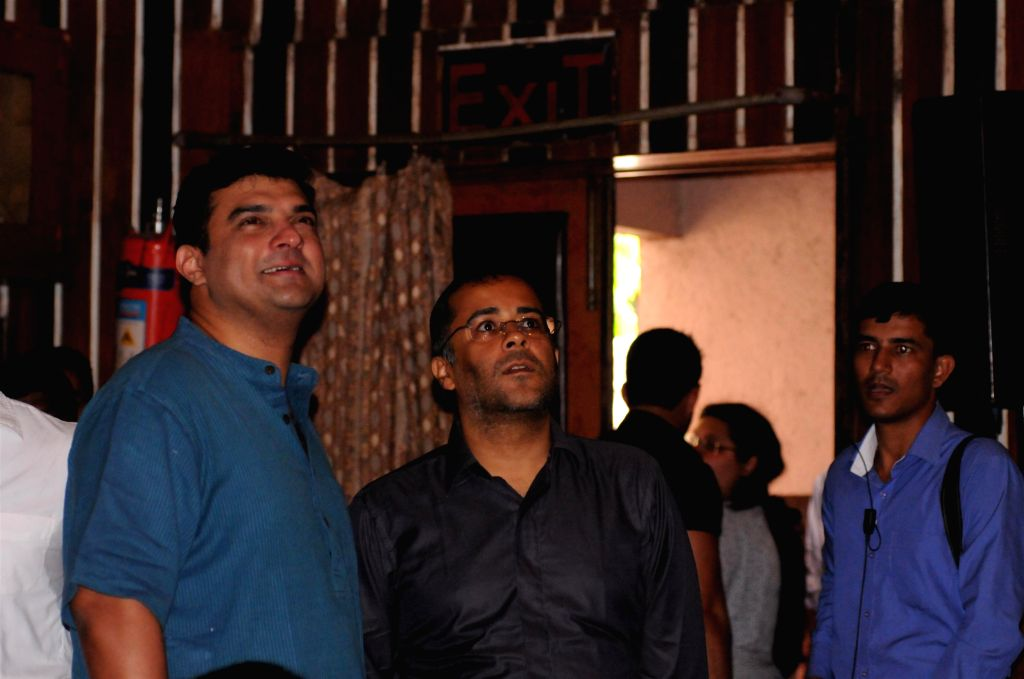 Filmmaker Siddharth Roy Kapur during the trailer launch of the film Kick in Mumbai on June 15, 2014. - Siddharth Roy Kapur