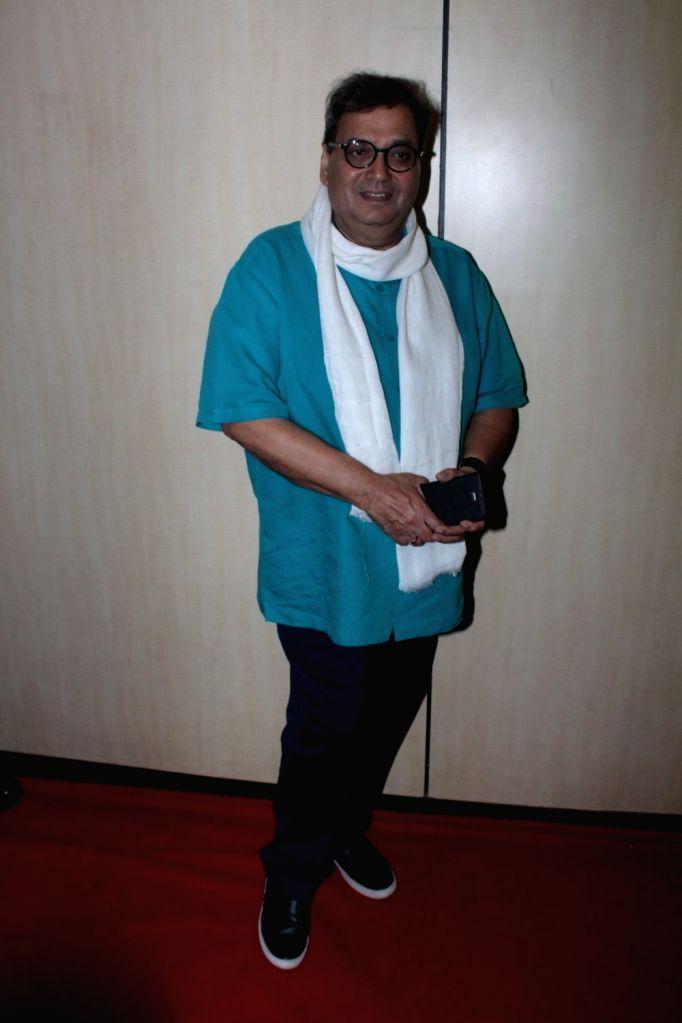 Filmmaker Subhash Ghai during the Dada Saheb Phalke Academy Awards 2017 in Mumbai on June 1, 2017. - Subhash Ghai