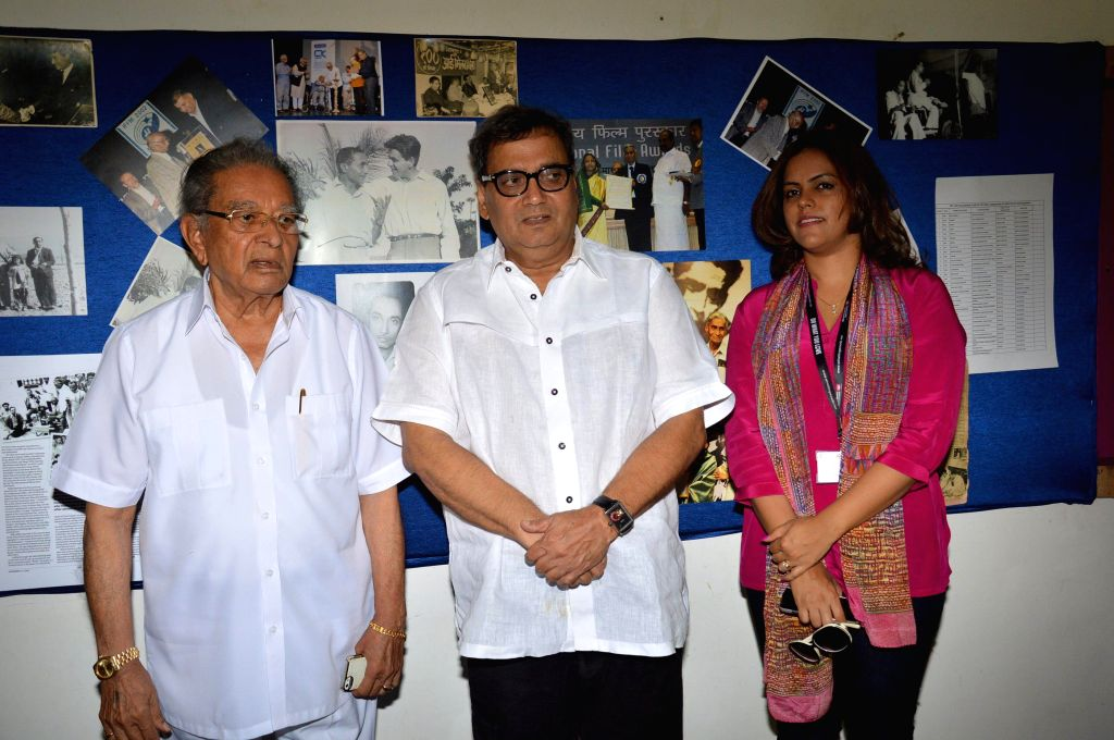 Filmmaker Subhash Ghai during Whistling Woods event at Filmcity in Mumbai on May 10, 2014. - Subhash Ghai
