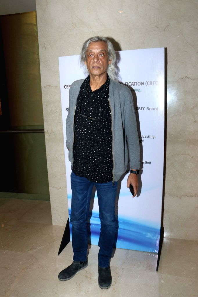 Filmmaker Sudhir Mishra during the launch of the new logo and certificate design of Central Board of Film Certification (CBFC) in Mumbai on Sept 1, 2019. - Sudhir Mishra