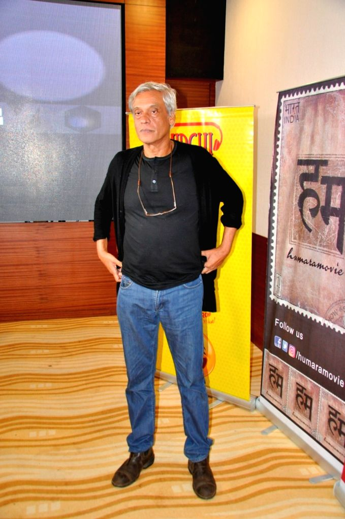 Filmmaker Sudhir Mishra during the special screening of short film `The Virgins` in Mumbai, on June 30, 2016. - Sudhir Mishra