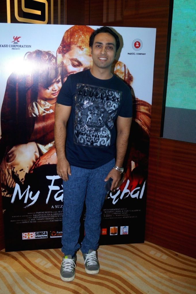 Filmmaker Suzad Iqbal Khan during the music launch of film My Father Iqbal in Mumbai, on August 6, 2016. - Suzad Iqbal Khan