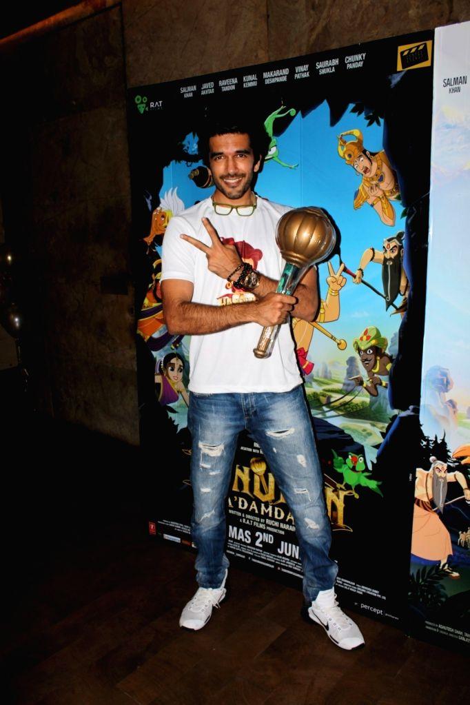 Filmmaker Tahir Shabbir during the screening of film Hanuman Da Damdaar in Mumbai on June 1, 2017. - Tahir Shabbir