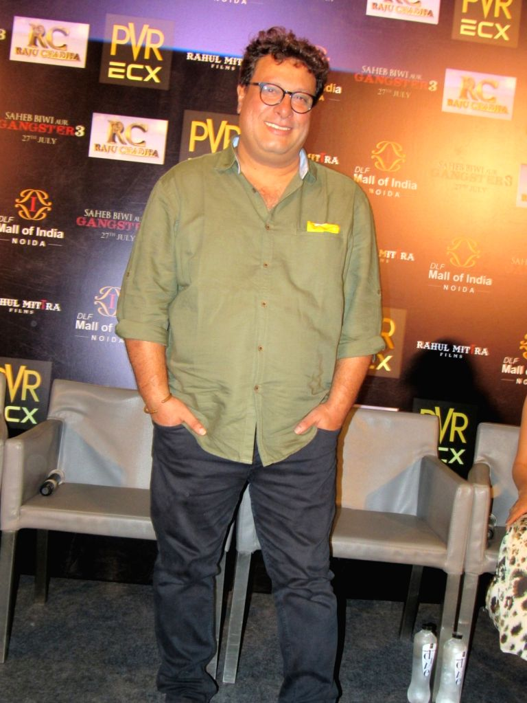 "Filmmaker Tigmanshu Dhulia during the promotion of his upcoming film ""Saheb Biwi Aur Gangster 3"" in Noida on July 25, 2018. - Tigmanshu Dhulia"