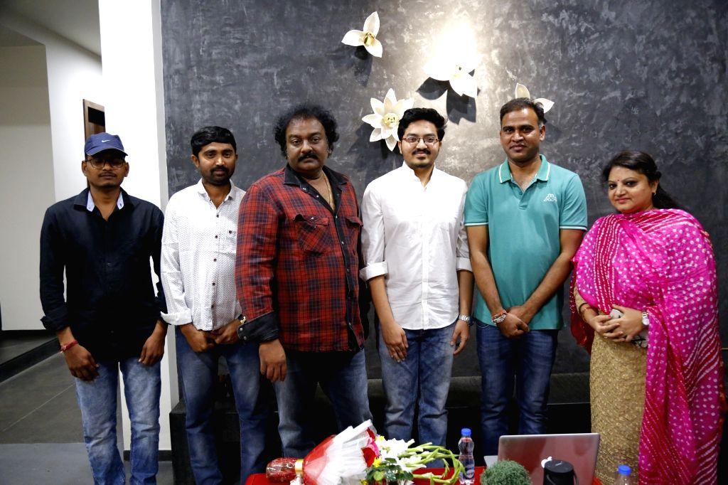 Filmmaker V. V. Vinayak released Welcome ZIndagi movie teaser. - V. V. Vinayak