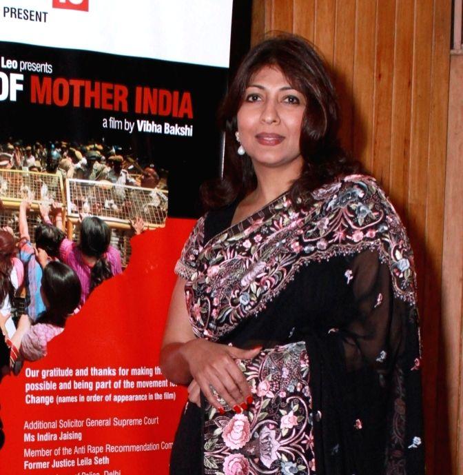 Filmmaker Vibha Bakshi. - Vibha Bakshi